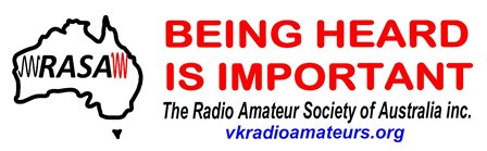 The Radio Amateur Society of Australia Inc.